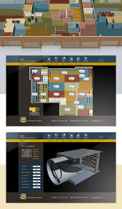 hvac building automation web ui on behance