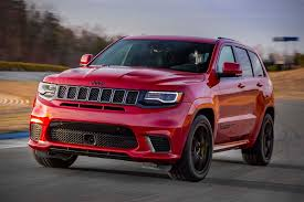jeep grand cherokee 2018 2018 jeep grand cherokee trackhawk hiconsumption