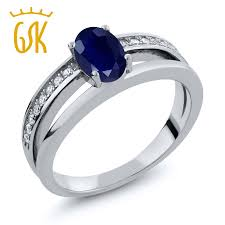 Birthstone Wedding Rings by Online Get Cheap Natural Sapphire Engagement Rings Aliexpress Com