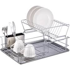 halloween cups and plates 2 tier dish rack chrome stainless steel walmart com