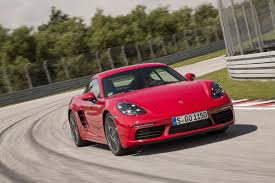red porsche truck 2017 porsche 718 cayman first drive review performance trumps