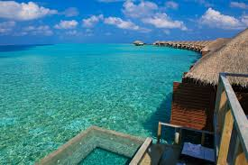 day trip to a resort island and overwater bungalows in the