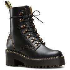 womens ugg leona boots dr martens leona vintage smooth s boot uk 5 us 7 black ebay