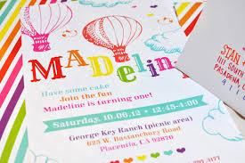 rainbow themed birthday invitations smitten on paper