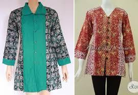 Model Baju Atasan Untuk Orang Gemuk 2015 Model Baju Dan | 35 koleksi model baju atasan batik wanita gemuk yang modern