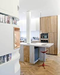 kitchen mesmerizing shaped small remodel using white kitchen breathtaking small remodel with curved corner used bookshelves and one red stool
