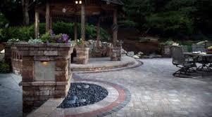 Ideas Design For Diy Paver Patio Enchanting Backyard Paver Patio Outdoor Building Ideas Best Paver