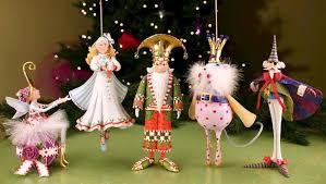 nutcracker ornaments patience brewster папье маше paper mache