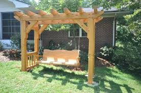 swing arbor plans woodworking arbor swing frame plans plans download free woodworking