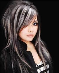 highlights for grey hair pictures dark hair with grey highlights hair x