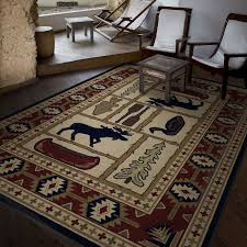 Log Cabin Area Rugs by Orian Rugs Bangor Evening Area Rug Walmart Canada