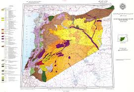 Map Of Syria by Soil Map Of Arab Countries Soil Map Of Syria U0026 Lebanon Esdac