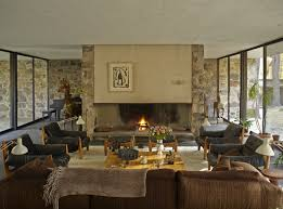Absolutely Gorgeous Midcentury Living Rooms Slate Flooring - Gorgeous family rooms
