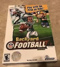 Kids Playing Backyard Football Backyard Football Pc Video Games Ebay