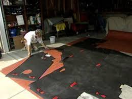 how to install natural linoleum flooring hgtv