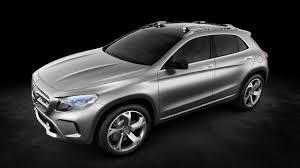 bmw minivan concept 2013 mercedes benz gla concept previews bmw x1 and audi q3