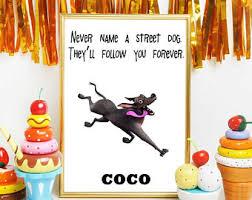 coco disney quotes digital download wall art decor by digitalspot on etsy