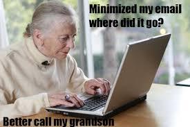Computer Grandma Meme - image 264017 grandma on the computer know your meme