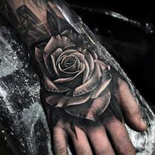 rose hand tattoo tattoo collections