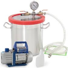 Vaccum Purger Buy 3gallon Vacuum Chamber 4 Cfm Deep Vane Pump Purge Degas