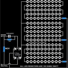 simple led tubelight circuit explained comprehensively wiring
