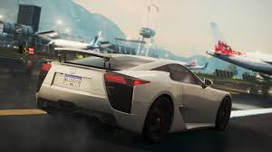 lfa lexus wallpaper images need for speed lexus most wanted 2012 lfa games back view