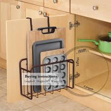 kitchen cabinet door storage racks the best organizers and storage systems that you can hang on