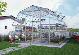 Palram Lean To Greenhouse Palram Four Season Americana Silver Hobby Greenhouse 12 X 12 Ft
