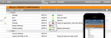 Home Maintenance Spreadsheet by Rental Property Maintenance Template Smartsheet
