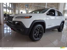 jeep white cherokee 2016 bright white jeep cherokee trailhawk 4x4 112582884