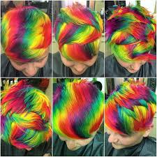 ways to dye short hair crazy all the different patterns hair pinterest salons and
