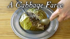 cuisine farce a cabbage farce 18th century cooking s6e4