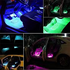 Led Strips Lights by Snagshout Minger Car Led Strip Light 4pcs Upgraded Bluetooth