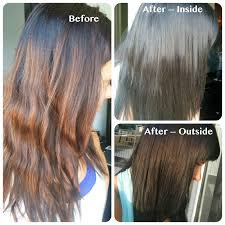 coloring over ombre hair diy gloss and dirt
