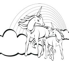 coloring pages of unicorns and fairies rainbow magic coloring pages rainbow coloring page as well as