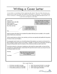 how can i write a cover letter gallery letter format examples