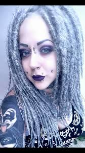 How To Dread Hair Extensions by Hair Falls Wool Falls Dread Falls Hair Extensions Gothic Hair And