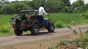 open jeep modified dabwali amit road show 4 4 jeep youtube