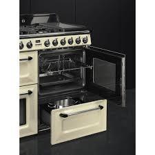 Smeg 110 Gloss Black Induction Cooker Tr4110p1 Smeg Smeg Uk