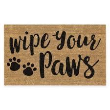 Disney Doormat Buy Wipe Your Paws Door Mat From Bed Bath U0026 Beyond
