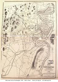 map of northton ma northton massachusetts maps from library of comgress