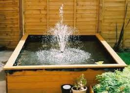 Building A Fish Pond In Your Backyard by Building A Boxed Backyard Pond I Really Like This Idea Safer