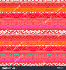 Red Coral Home Decor by Striped Pattern Inspired By Aztec Art Stock Vector 161239277