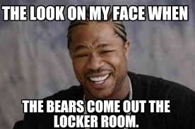 Bears Meme - meme creator the look on my face when the bears come out the