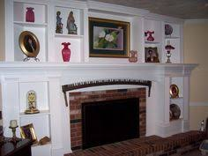 Built In Bookshelves Around Fireplace by Shelves Around Fireplace Built In Shelving Made Around Existing