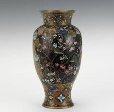 Antique Cloisonne Vases Japanese Cloisonne Vase Aspire Auctions