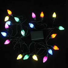 String Of Led Lights by Seasonal String Of White Led Light Bulbs
