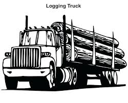 semi truck trailer coloring pages best pickup for download with