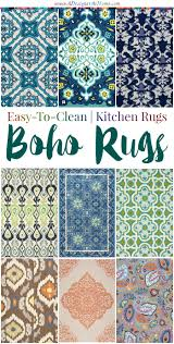 Kitchen Rugs by Easy To Clean Kitchen Rugs A Designer At Home