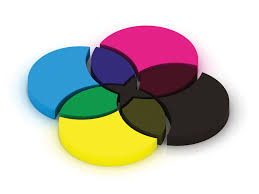 Cmyk Color Spectrum Puzzle Color